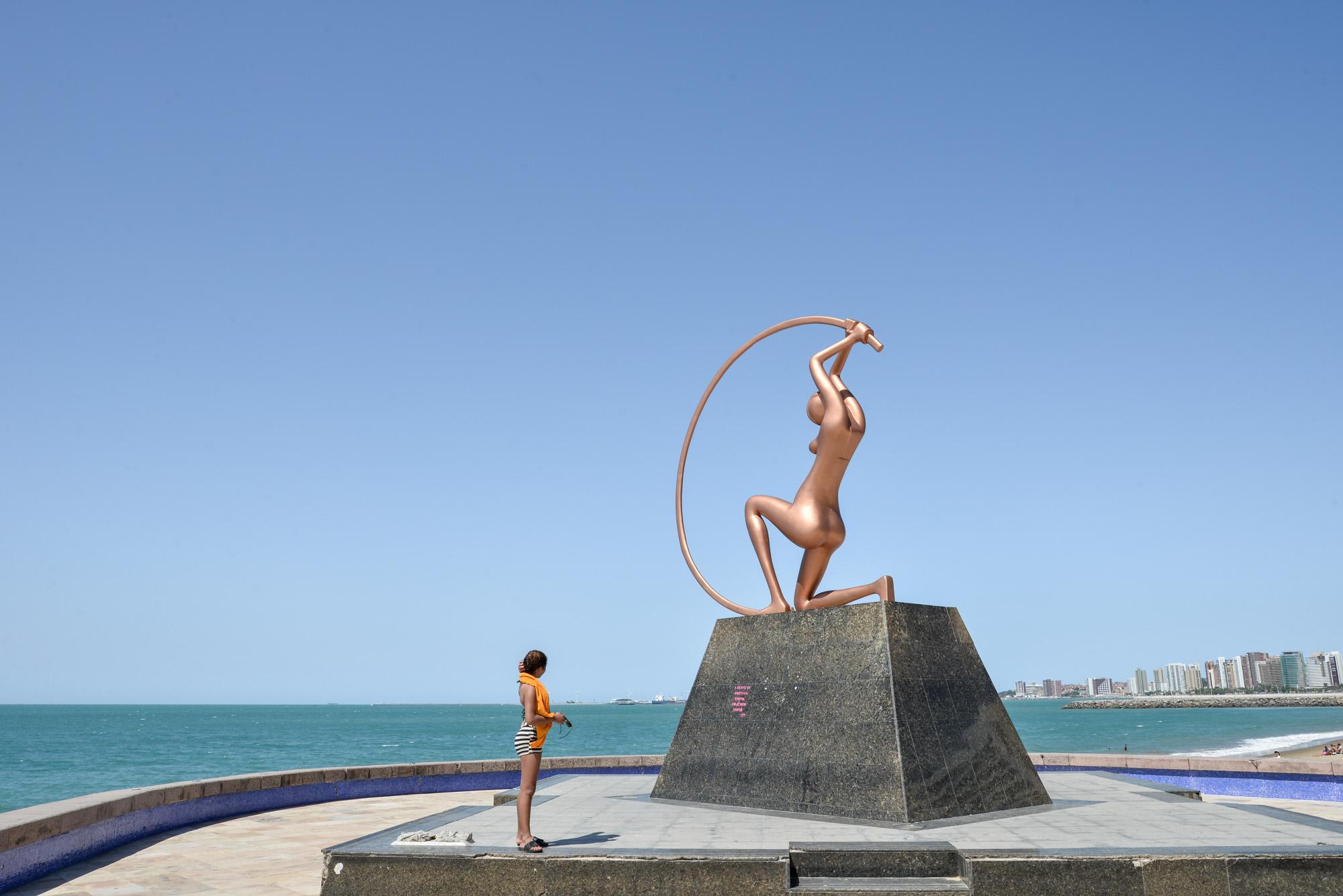 Fortaleza, a primeira saída para a Europa_Num Postal