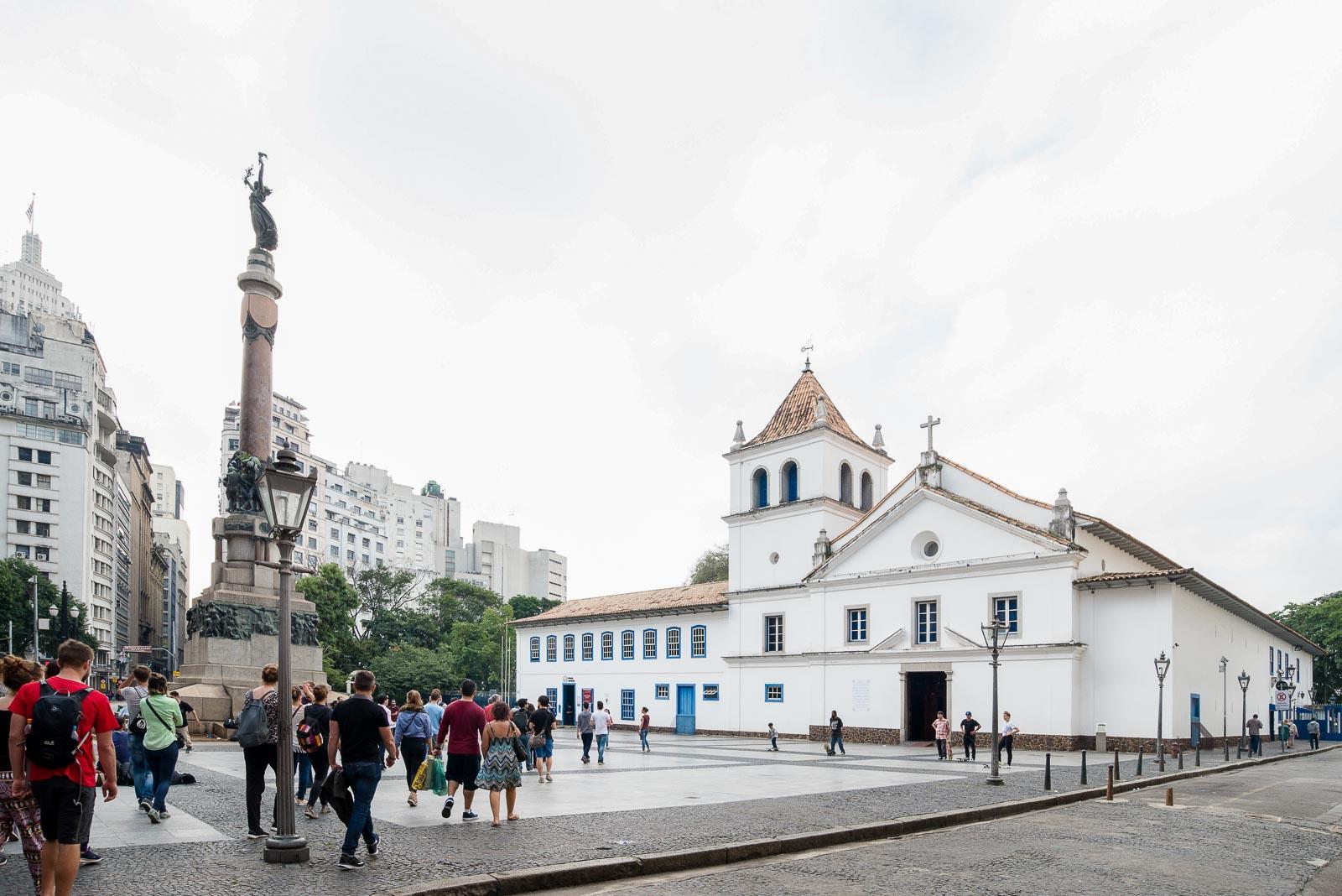 São Paulo, a selva de pedra_Num Postal