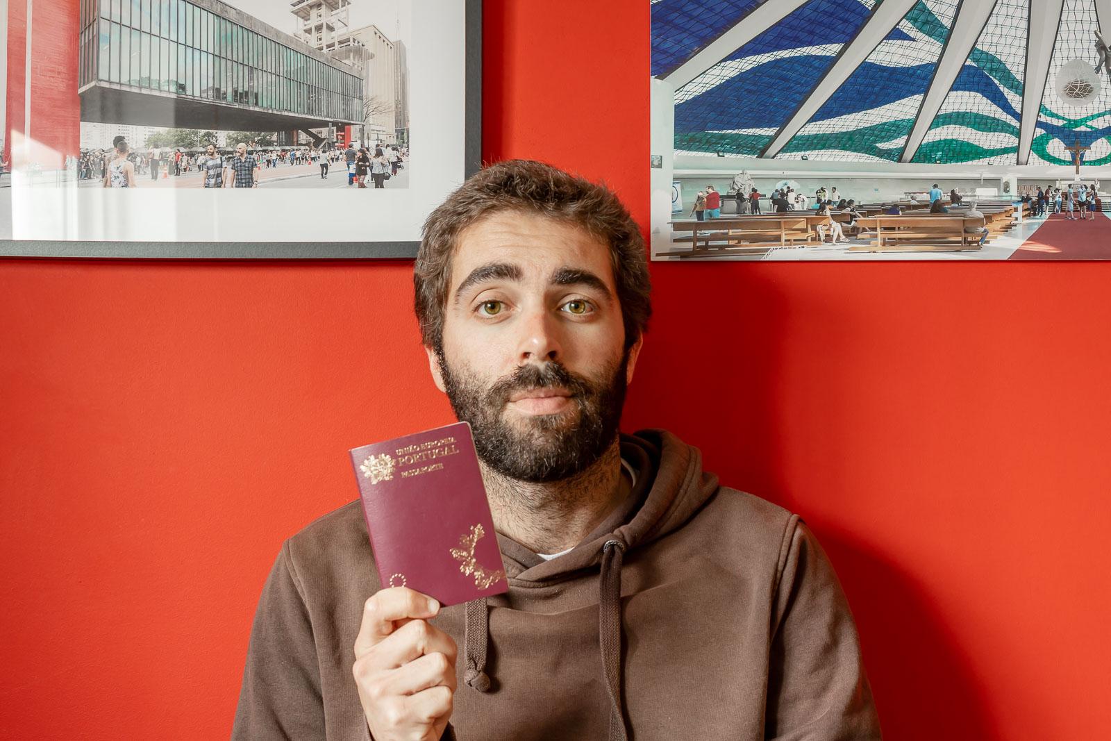 O meu passaporte com a Marlene Marques_Num Postal