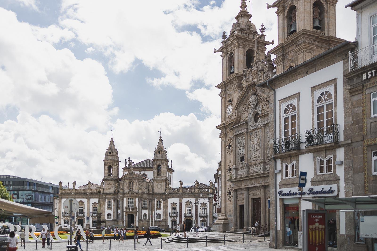 Braga, a Roma Portuguesa_Num Postal