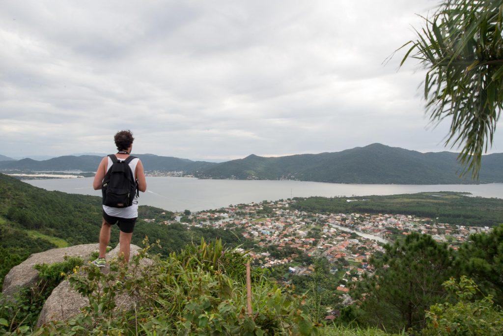 Florianópolis, a terra da carona_Num Postal