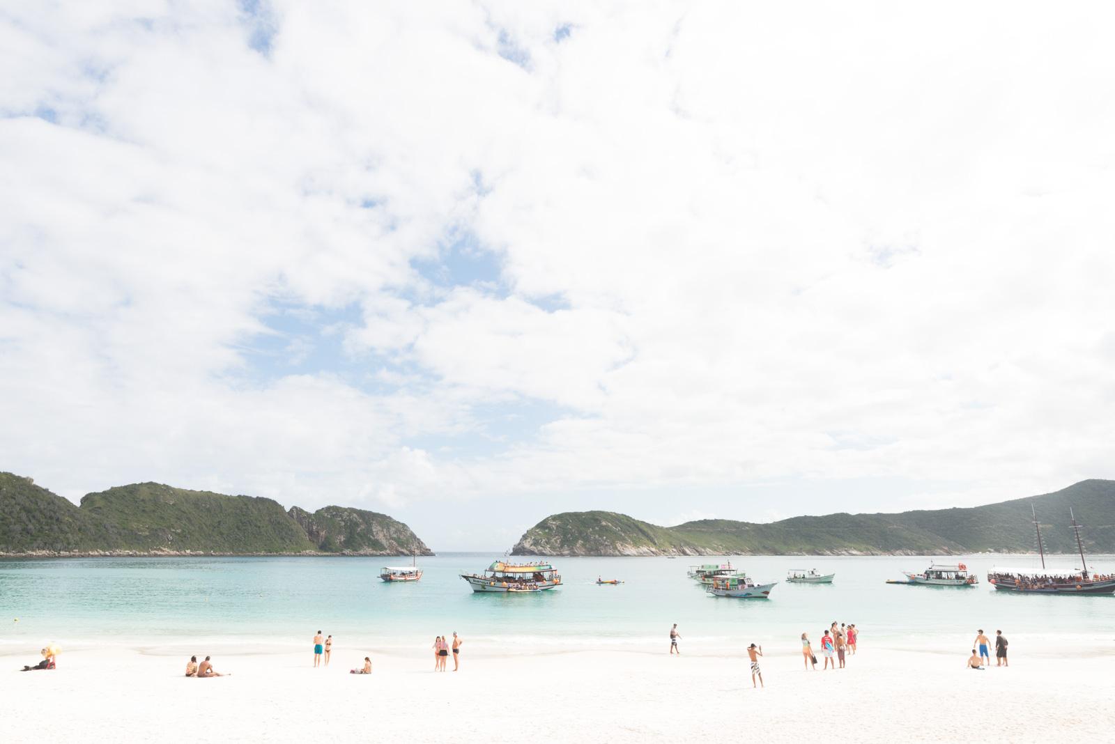 Arraial do Cabo, praia, sol e mais praia_Num Postal