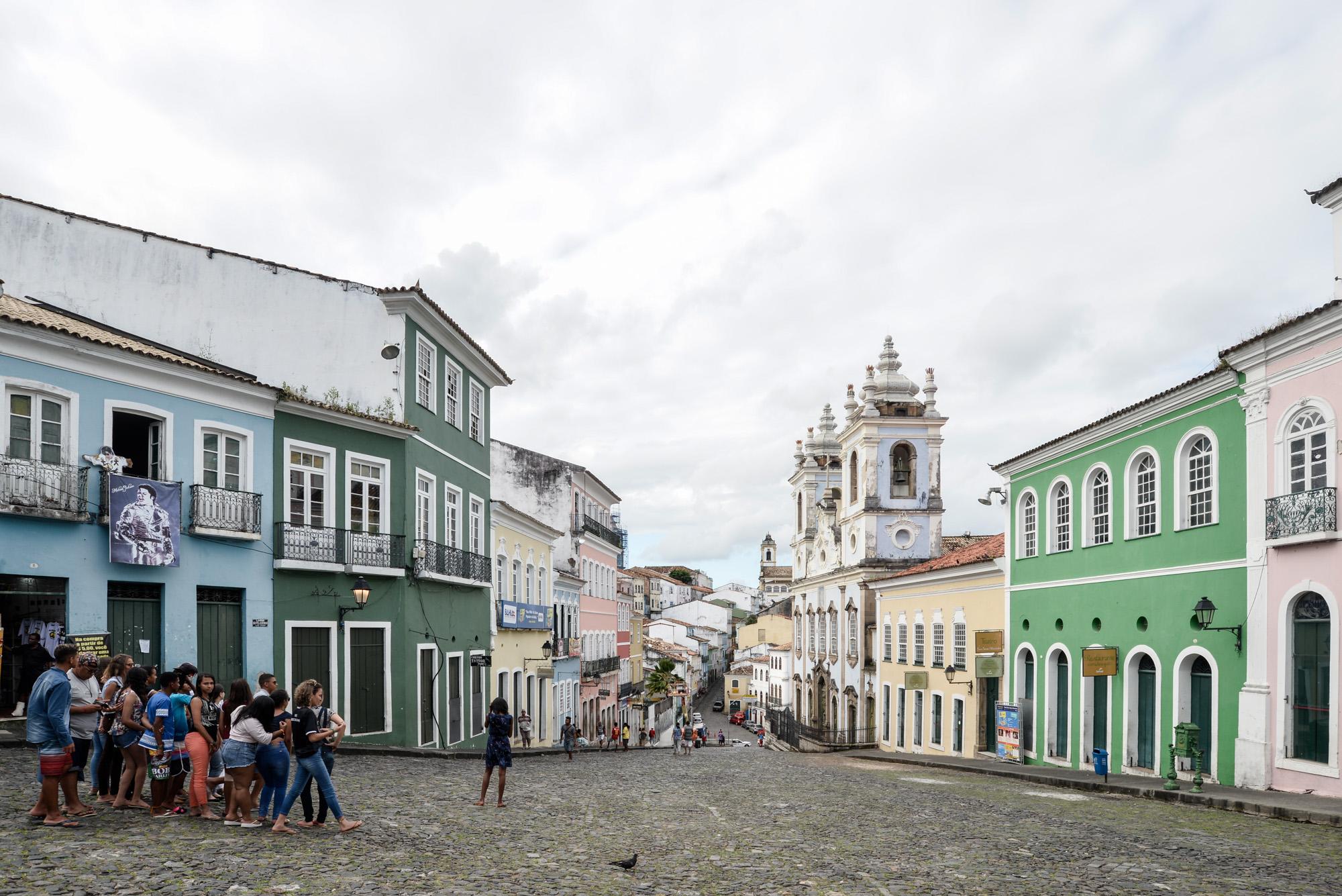Salvador, o encanto da Bahia_Num Postal