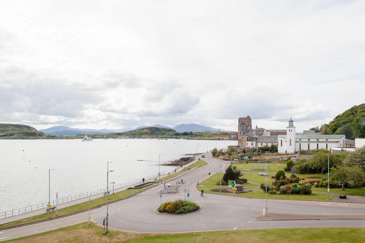 Oban, a baía do marisco_Num Postal