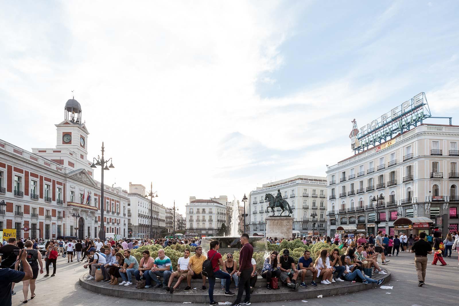 Madrid, a realeza ibérica_Num Postal