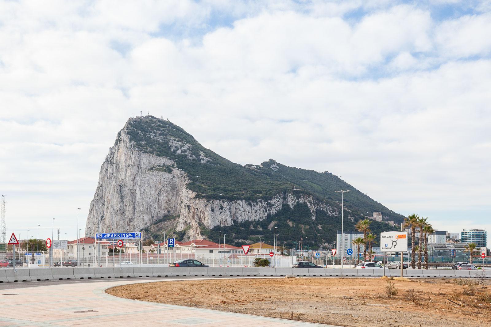 Gibraltar, movidos pelo rochedo_Num Postal