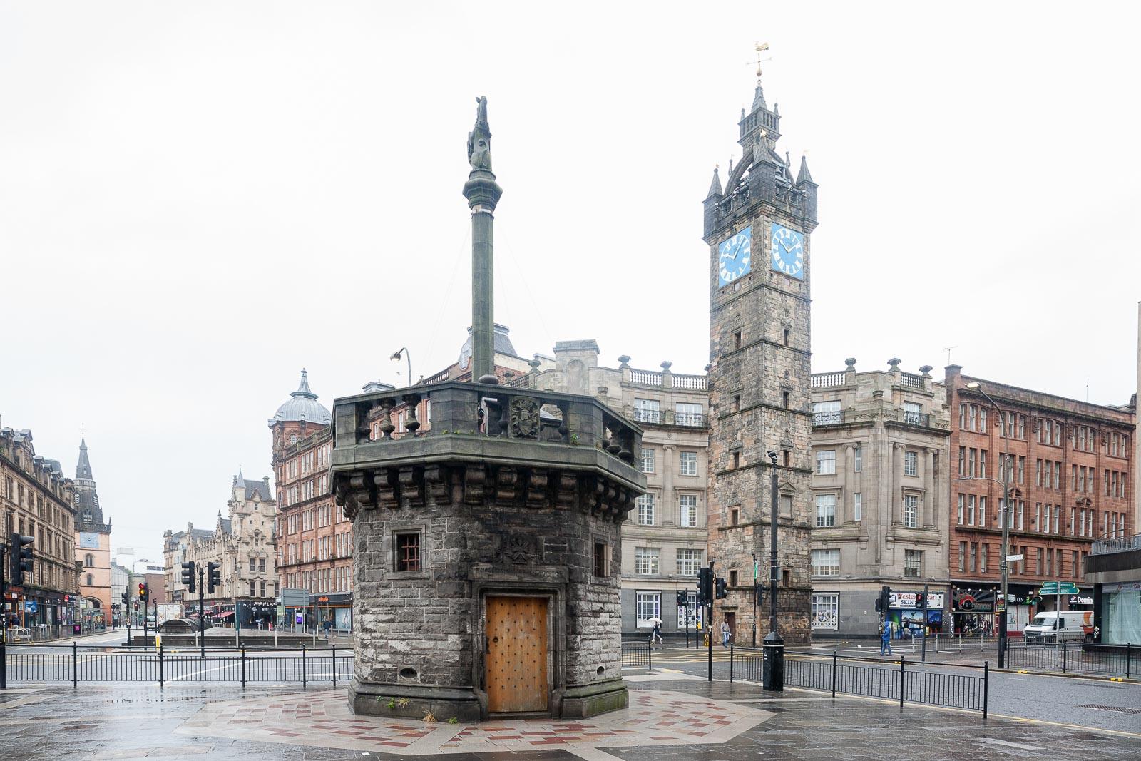 Glasgow, o centro financeiro_Num Postal