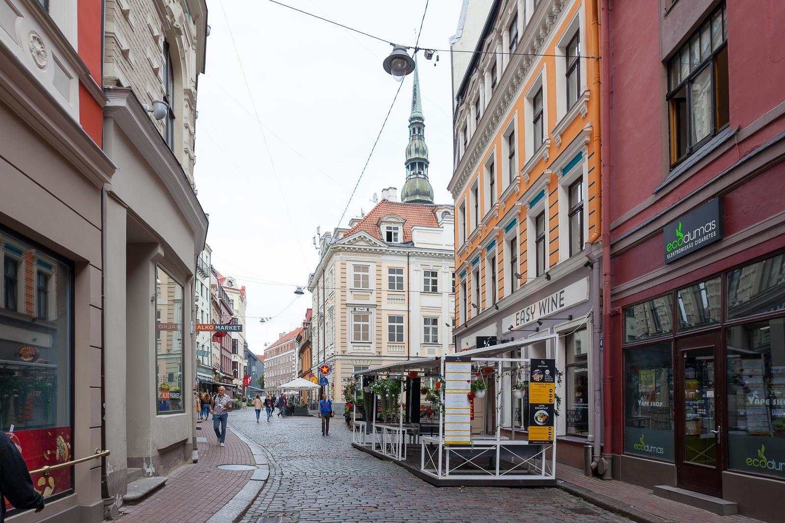 Riga, desconhecida e surpreendente_Num Postal