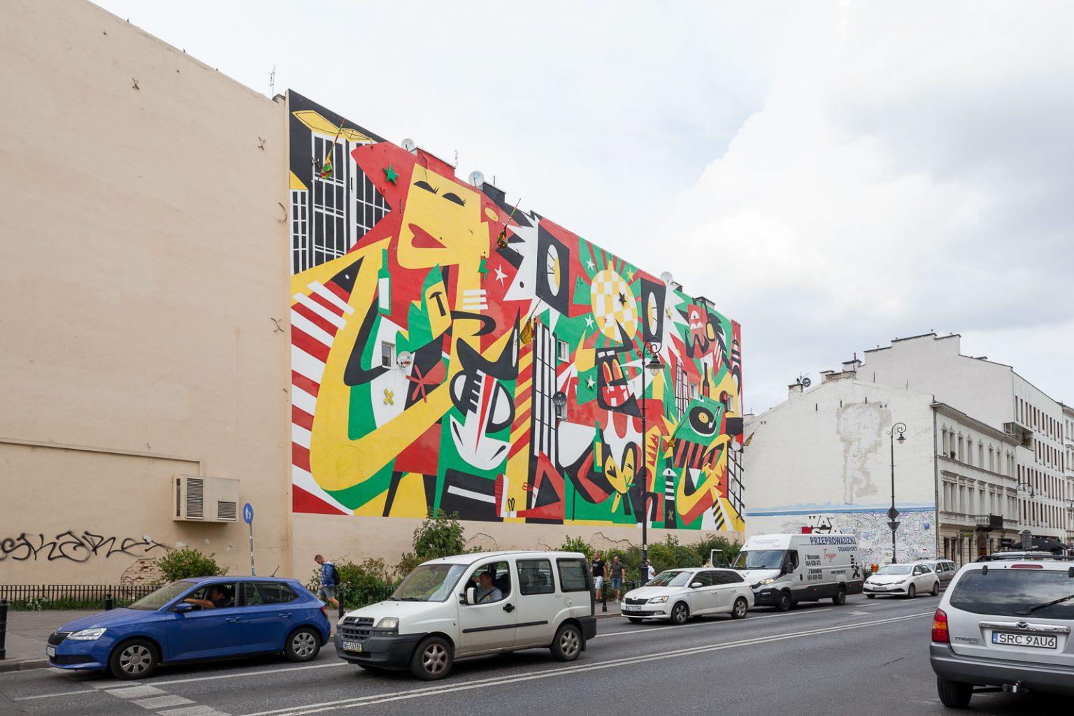Varsóvia, a arte de renascer_Num Postal