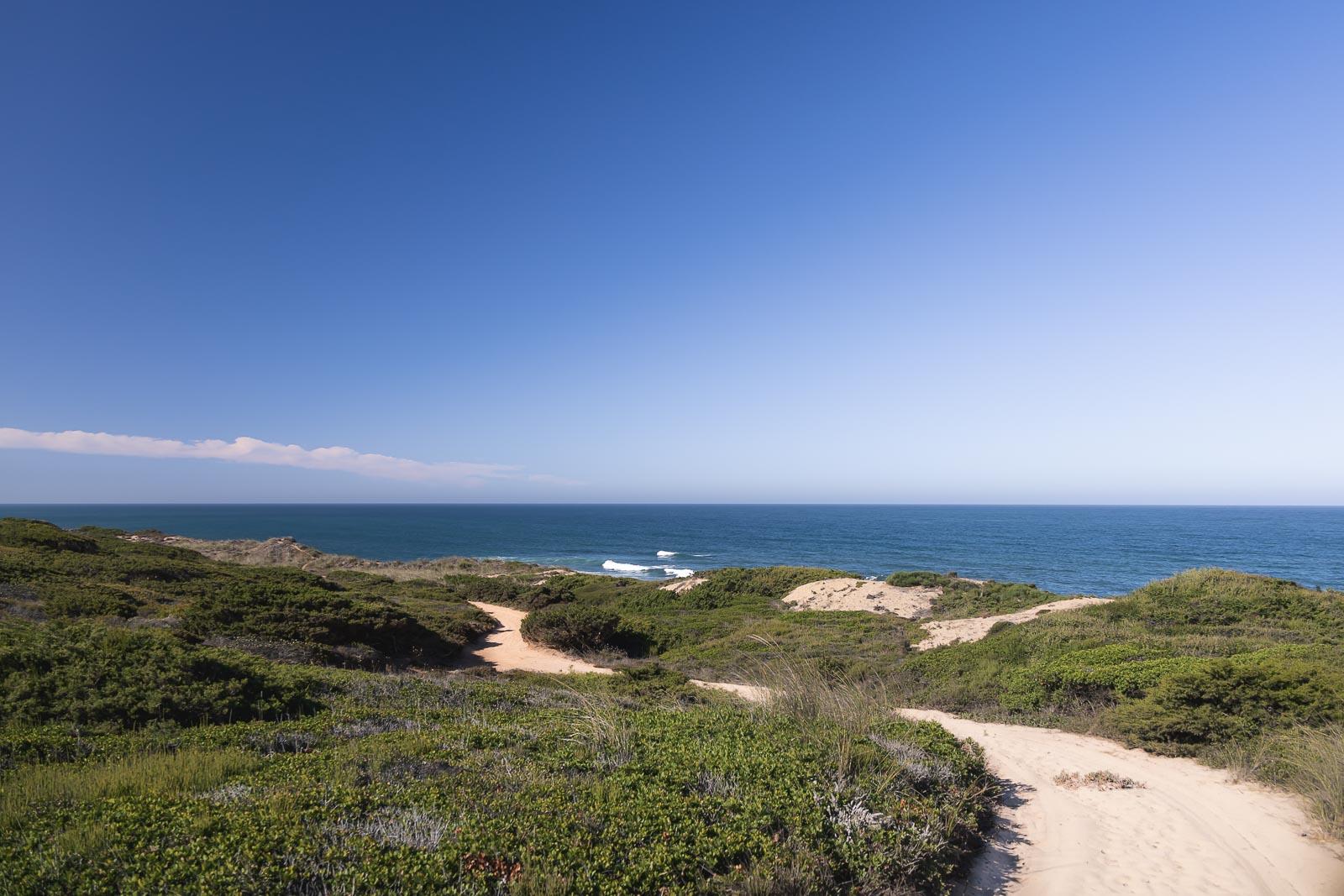 3ª Etapa do Trilho dos Pescadores, de Vila Nova de Milfontes a Almograve_Num Postal