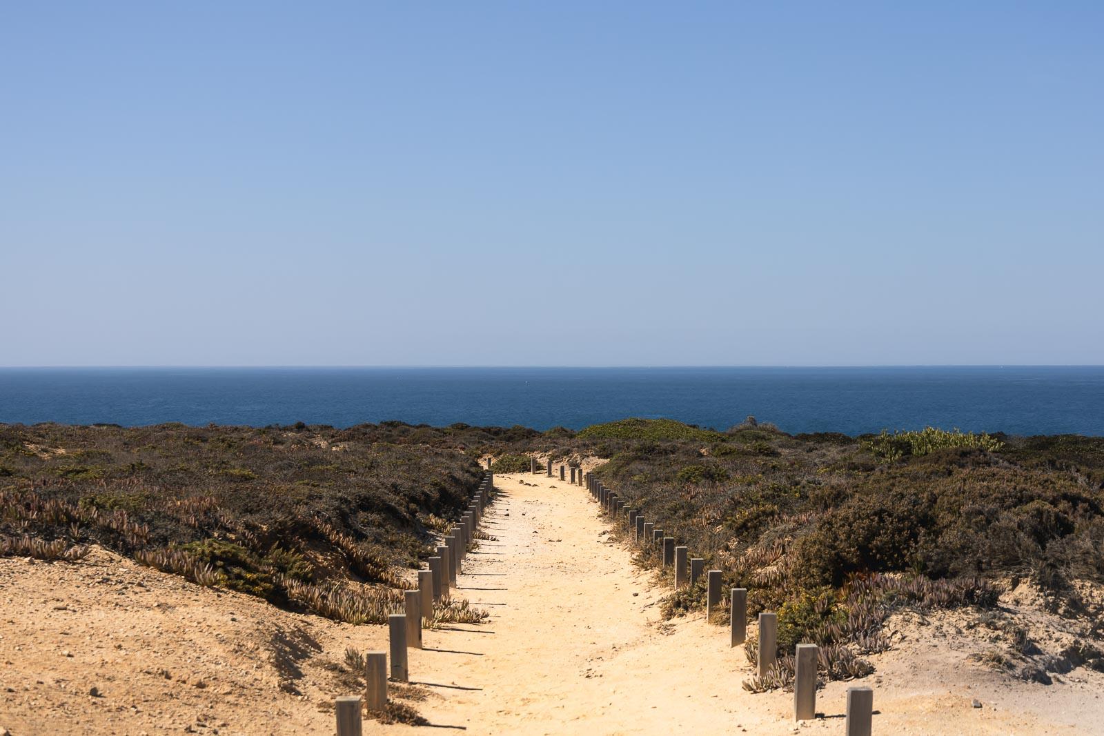 4ª Etapa do Trilho dos Pescadores, de Almograve à Zambujeira do Mar_Num Postal