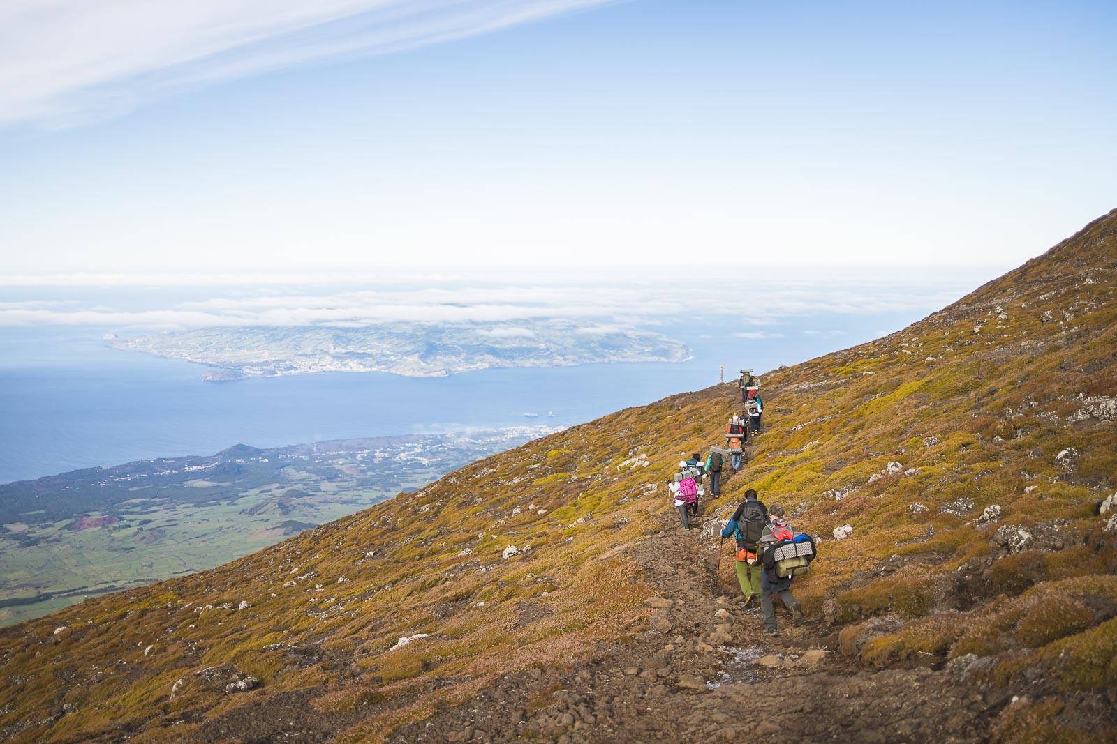 Pico, o ponto mais alto de Portugal_Num Postal